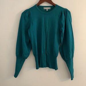 MARLED deep teal sweater